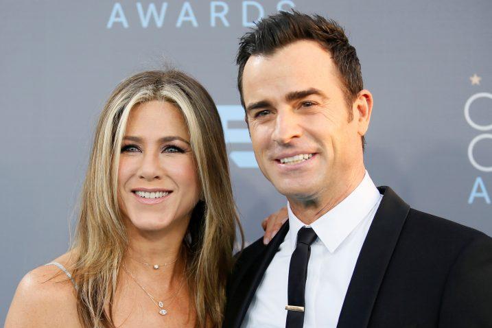 Jennifer Aniston i Justin Theroux / REUTERS
