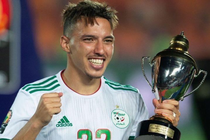 Ismael Bennacer osvojio je s Alžirom Afrički Kup nacija/Foto REUTERS