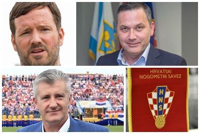 Ivan Meštrović, Marijan Kustić i Davor Šuker/Foto PIXSELL