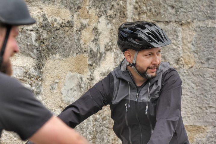 Mihael Zmajlović biciklom stigao u Kastav