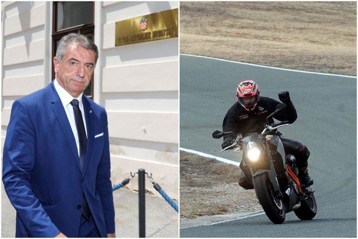 Darko Milinović pasionirani je vozač motocikla ()fotografija desno je ilustracija, ne prikazuje konkretan događaj)