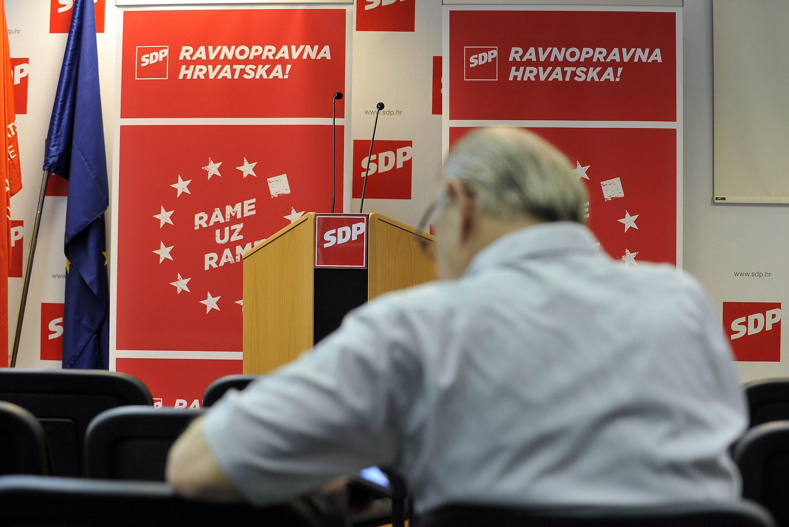 Sjednica Glavnog odbora SDP-a bit će trenutak svođenja računa i prilika za odluku o datumu unutarstranačkih izbora / Foto D. KOVAČEVIĆ