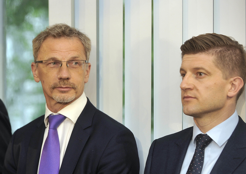 Boris Vujčić i Zdravko Marić / Snimio Davor KOVAČEVIĆ