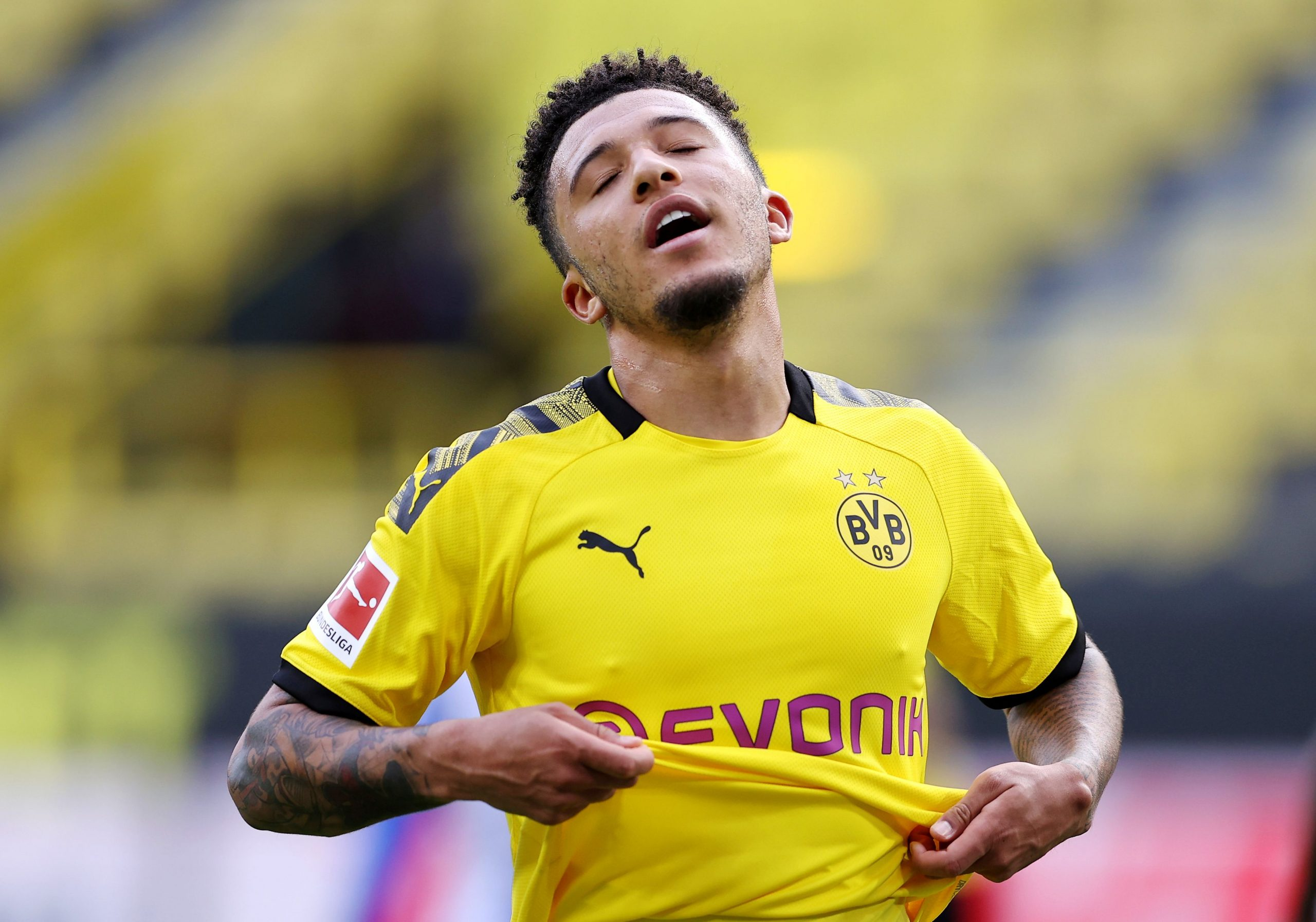 Jadon Sancho/Foto REUTERS