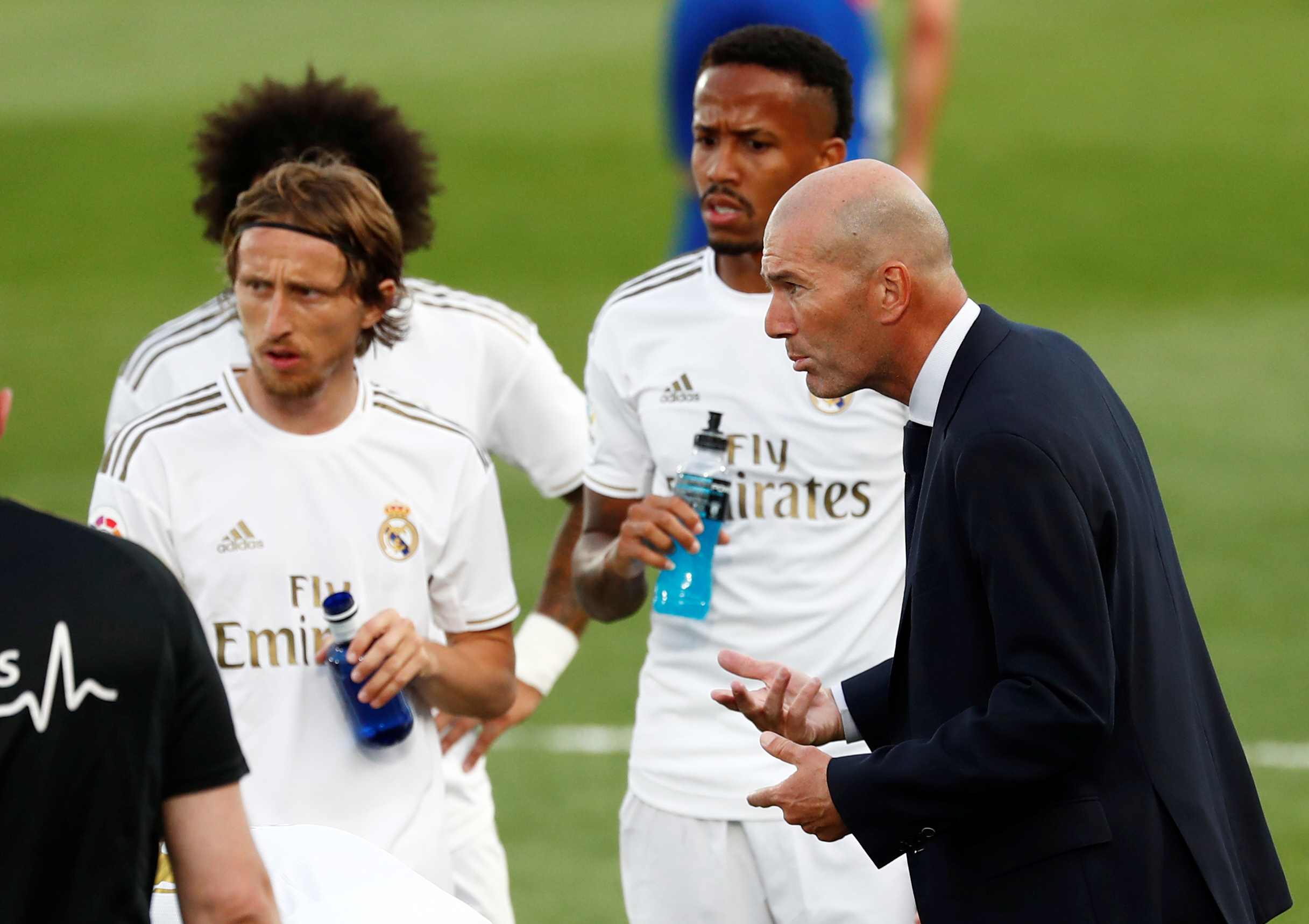 Luka Modrić i Zinedine Zidane/Foto REUTERS