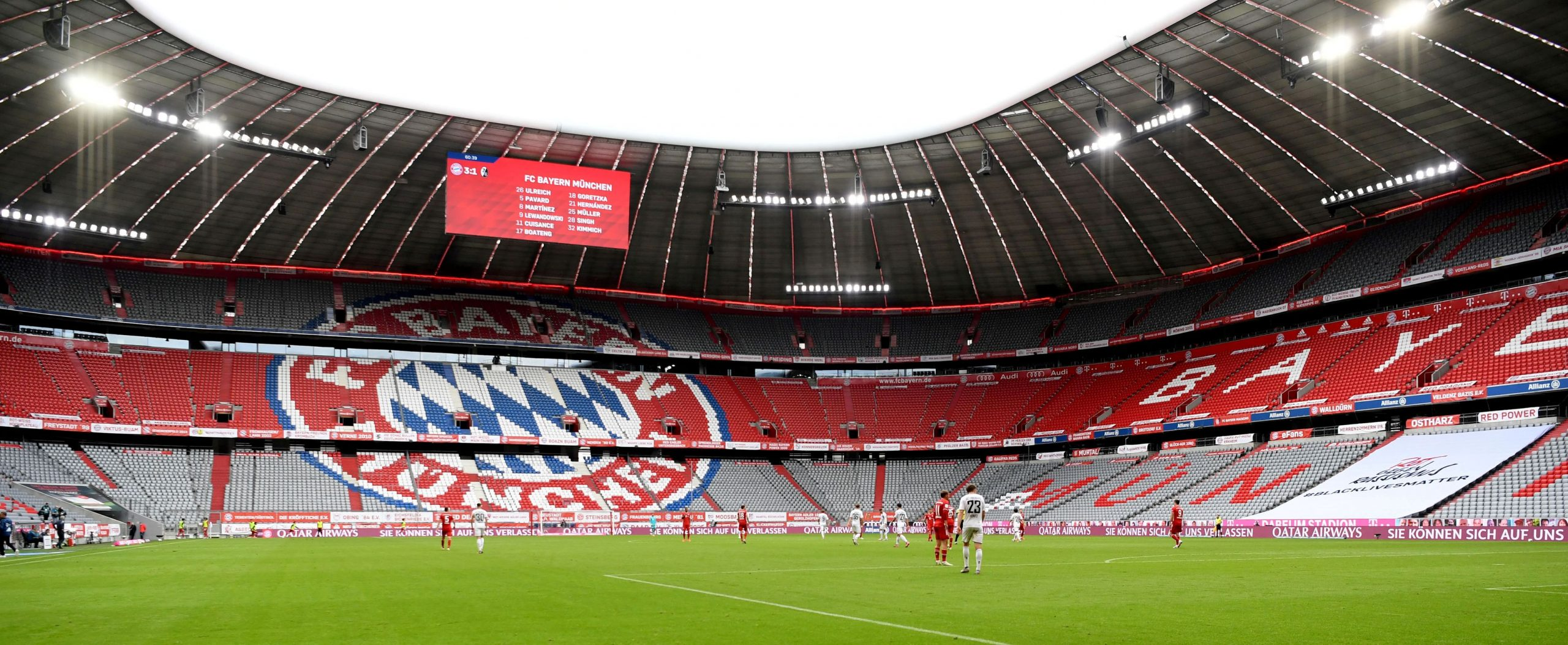 Bayernova Allianz Arena/Foto REUTERS