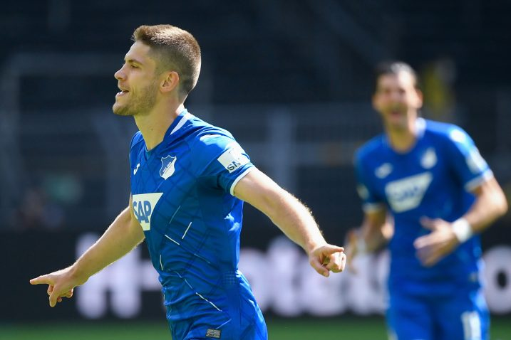 Andrej Kramarić u dresu Hoffenheima/Foto REUTERS