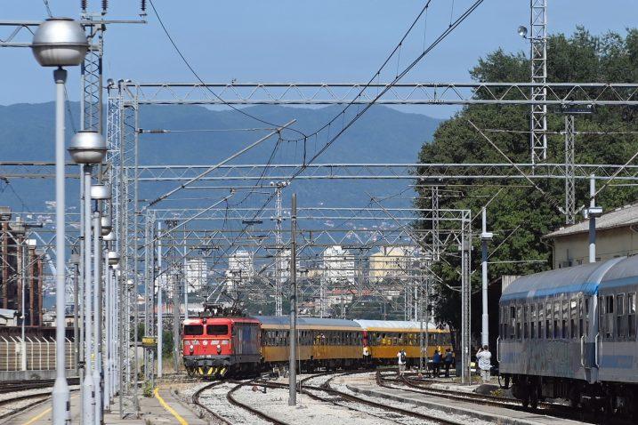 Vlak RegioJeta stigao u Rijeku / Snimio Vedran KARUZA