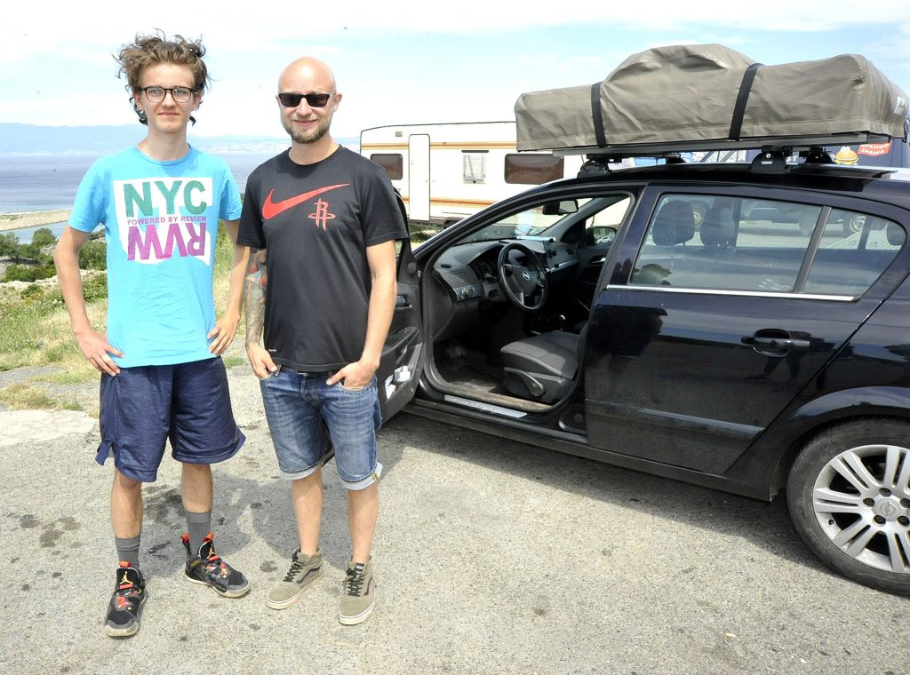 Maurice i Mason planiraju road trip po Hrvatskoj / Foto S. DRECHSLER