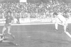Hrstić zabija pogodak Hajduku