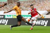 Willy Boly (Wolverhapton) i Pierre-Emerick Aubameyang (Arsenal)/Foto REUTERS