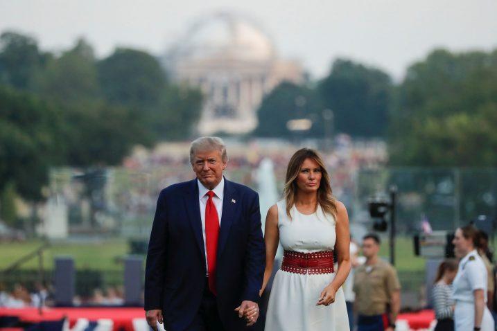 Donald i Melania Trump / Reuters