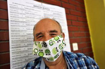 Masku sam sašio - Marinko Milošević / Foto D. KOVAČEVIĆ