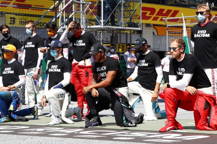 Vozači Formue 1 prije utrke/Foto REUTERS
