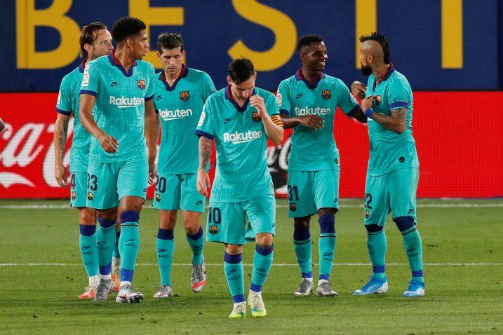 Leo Messi i društvo odigrali su vrlo dobru partiju/Foto REUTERS