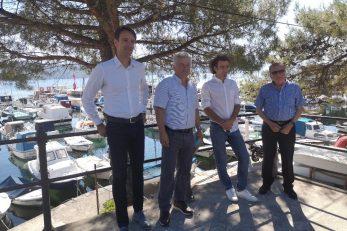 Fernando Kirigin, Damir Lovreković, Marin Starčić i Josip Brkić / Foto A. KUĆEL-ILIĆ