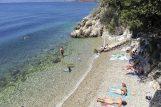 Plaža Srebrena ili Vila Maria na Pećinama / Snimio Roni BRMALJ