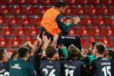 Slavlje igrača Werdera nakon utakmice/Foto REUTERS
