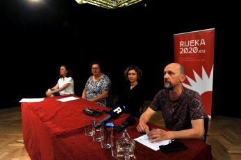 Petra Corva, Emina Višnić, Nikolina Pristaš i Goran Sergej Pristaš / Foto: D. ŠKOMRLJ