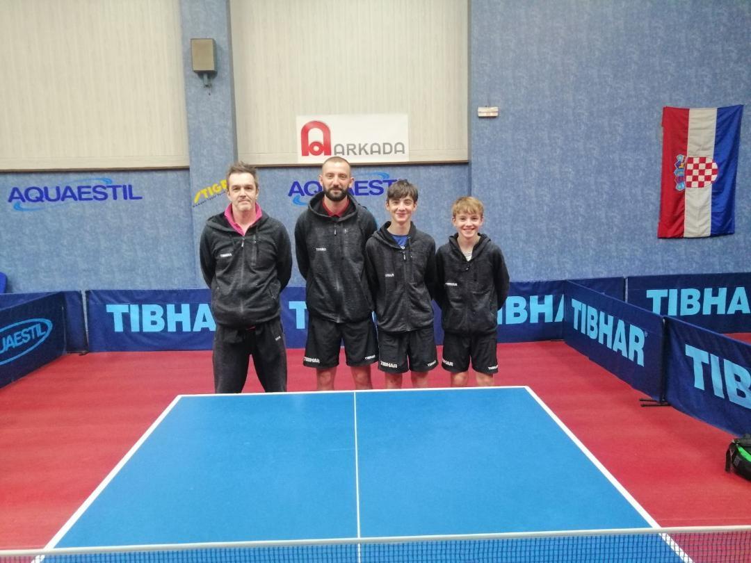 Marko Kovačević, Ivo Ganzelja, Alen Šebelja i Lukas Simčić