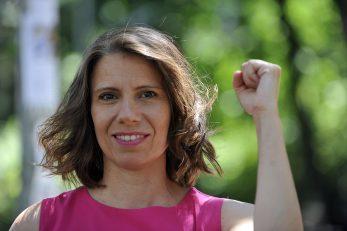 Borit ćemo se za zakon koji ženama osigurava pravo na javno dostupan i besplatan pobačaj - Katarina Peović / Snimio Davor KOVAČEVIĆ