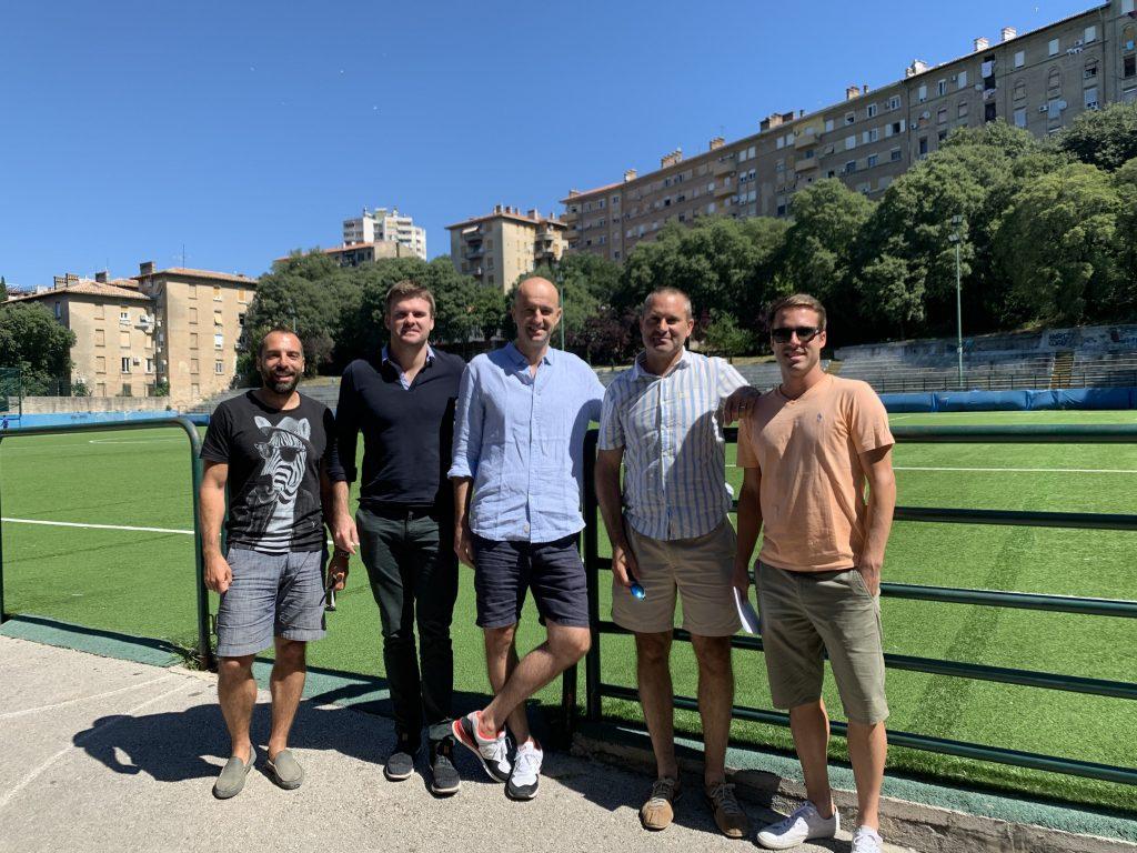 Fadi Shalabi, Richard Evans, Ivan Ljubičić, Luka Kutanjac i Dino Marcan