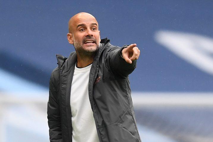 Pep Guardiola, trener Cityja/Foto REUTERS