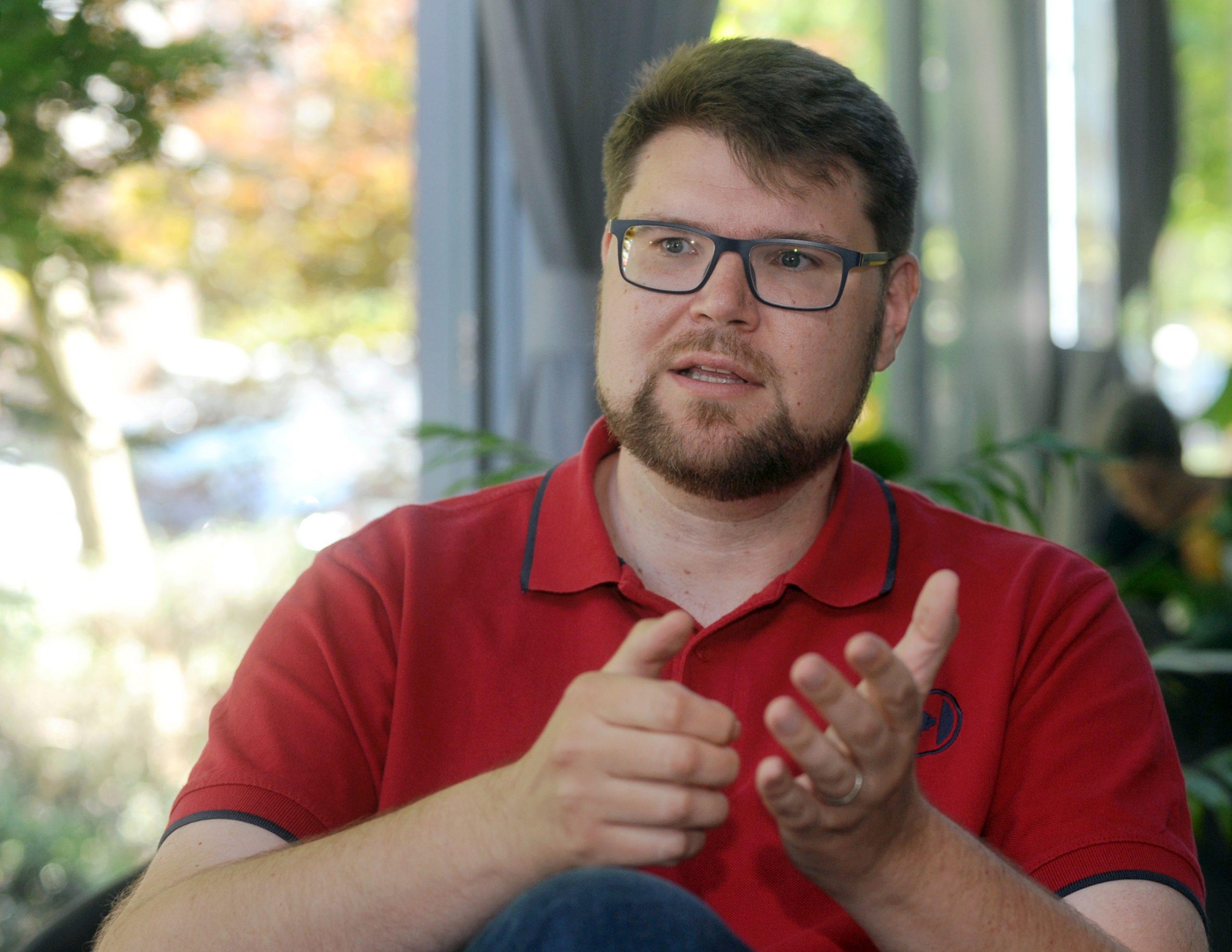 SDP vidim kao stranku koja će biti vođena dijalogom - Peđa Grbin / Foto Darko JELINEK