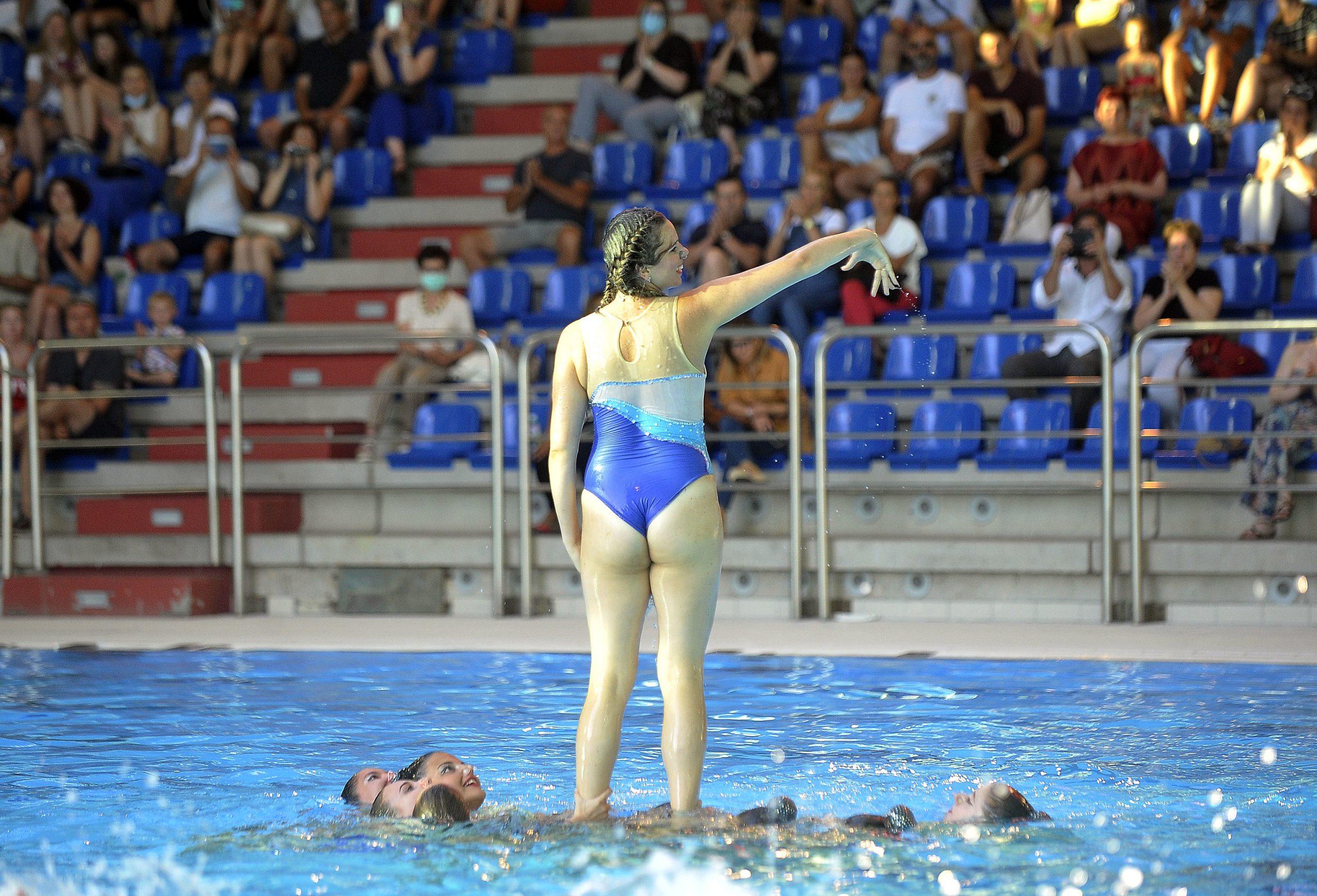 Završna revija Kluba sinkroniziranog plivanja Primorje Aqua Maris / Snimio Roni BRMALJ