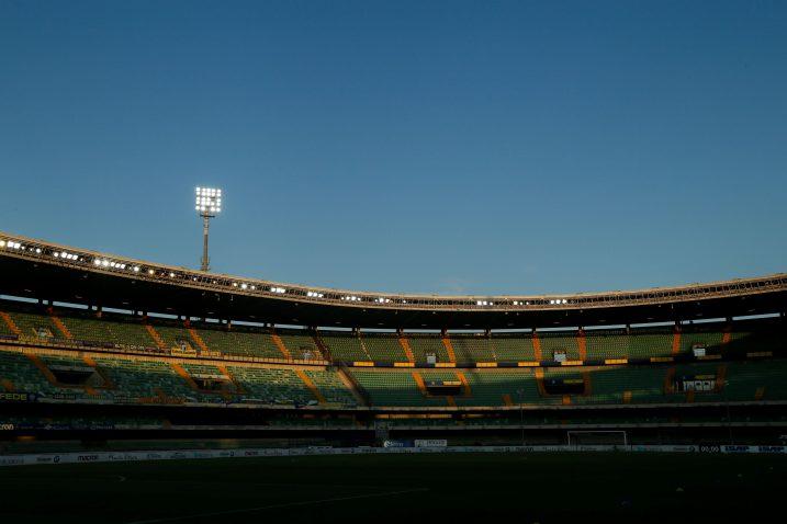 Stadion Marc'Antonio Bentegodi uoči ogleda Verone i Intera/Foto REUTERS