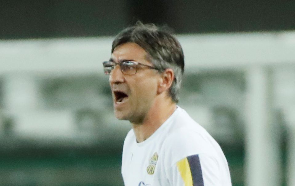 Ivan Jurić, trener Verone/Foto REUTERS