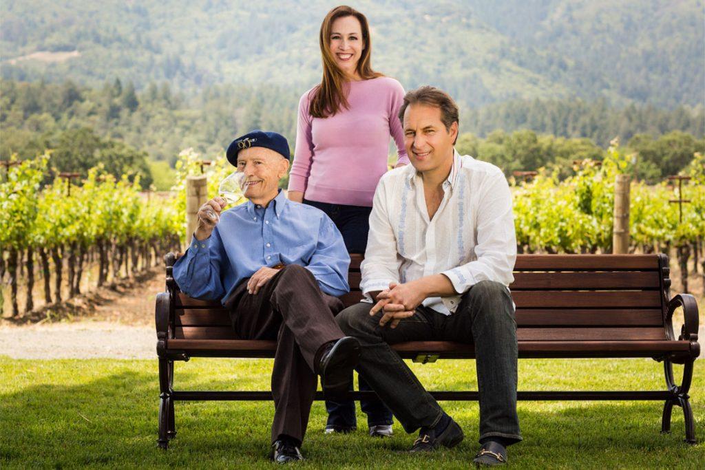 Miljenko Grgić s kćeri Violet Grgić i nećakom Ivom Jeramazom