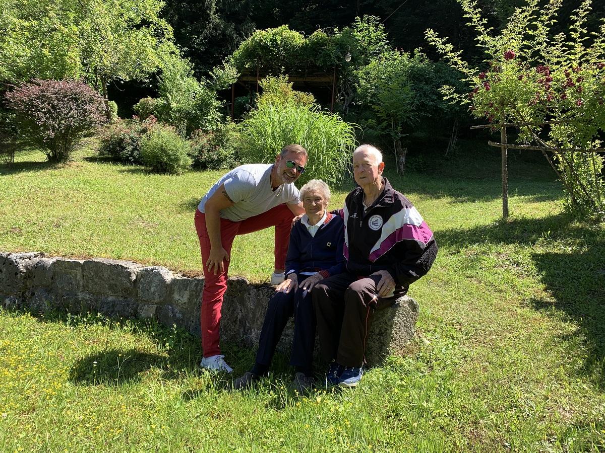 Rodion, Maša i Hamid Gačanin / Foto: M. CVIJANOVIĆ