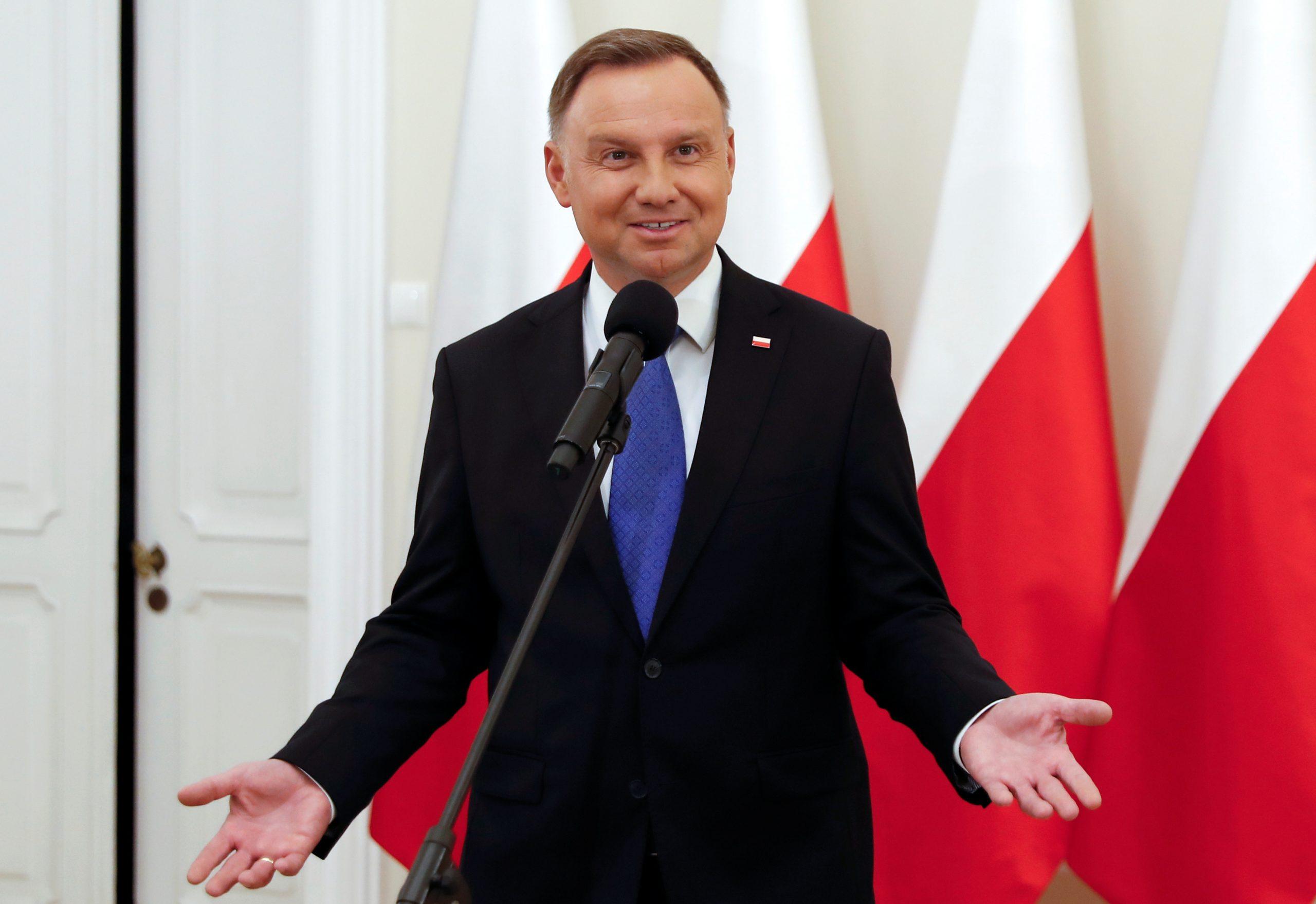 Andrzej Duda / REUTERS
