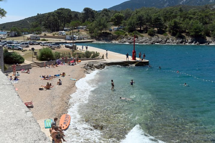 Plaža u Osoru / Snimio Vedran KARUZA