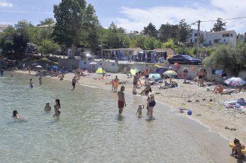 Plaža Pećine u Šilu / Snimio Roni BRMALJ