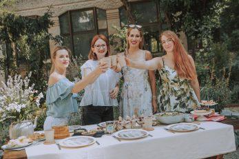 Martina Novosel, Tamara Sitar, Iva Tomić Smojver i Anika Makovac / Foto IVOR MAŽAR