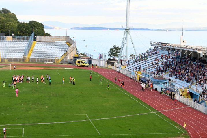 Stadion na Kantridi jedini će biti u pogonu ove subote/Foto V. KARUZA