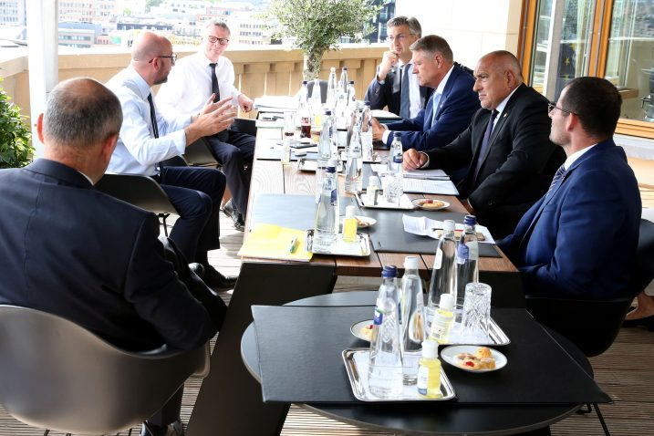 Premijer Plenković na jednom od sastanaka tijekom pregovora u Bruxellesu / Foto: REUTERS