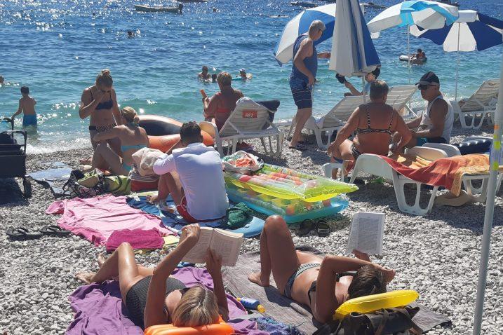 Sipar ili Vela plaža u Mošćeničkoj Dragi / Snimila Marina Kirigin