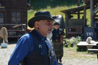 Pero Galić iskazao se kao neustrašivi šerif / Snimio Marinko KRMPOTIĆ