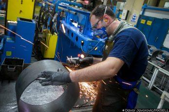 Hrvatski izvoznici godinama upozoravaju na manjak zaokreta prema novim tehnologijama i inovacijama u proizvodnoj sferi gospodarstva / Foto DAVOR JAVOROVIC/PIXSELL