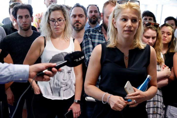 Novinari mađarskog Indexa / Reuters