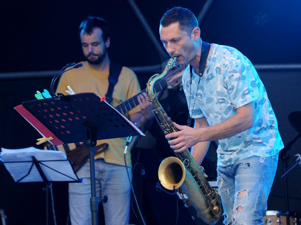 Jazz koncert Natrag u budućnost - Bruno Mičetić Quintet / Snimio Marko GRACIN