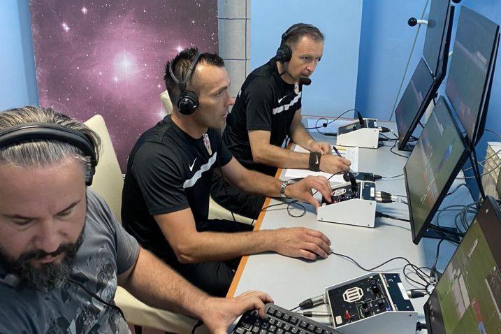 Ivan Bebek i Robi Kezel u VAR sobi