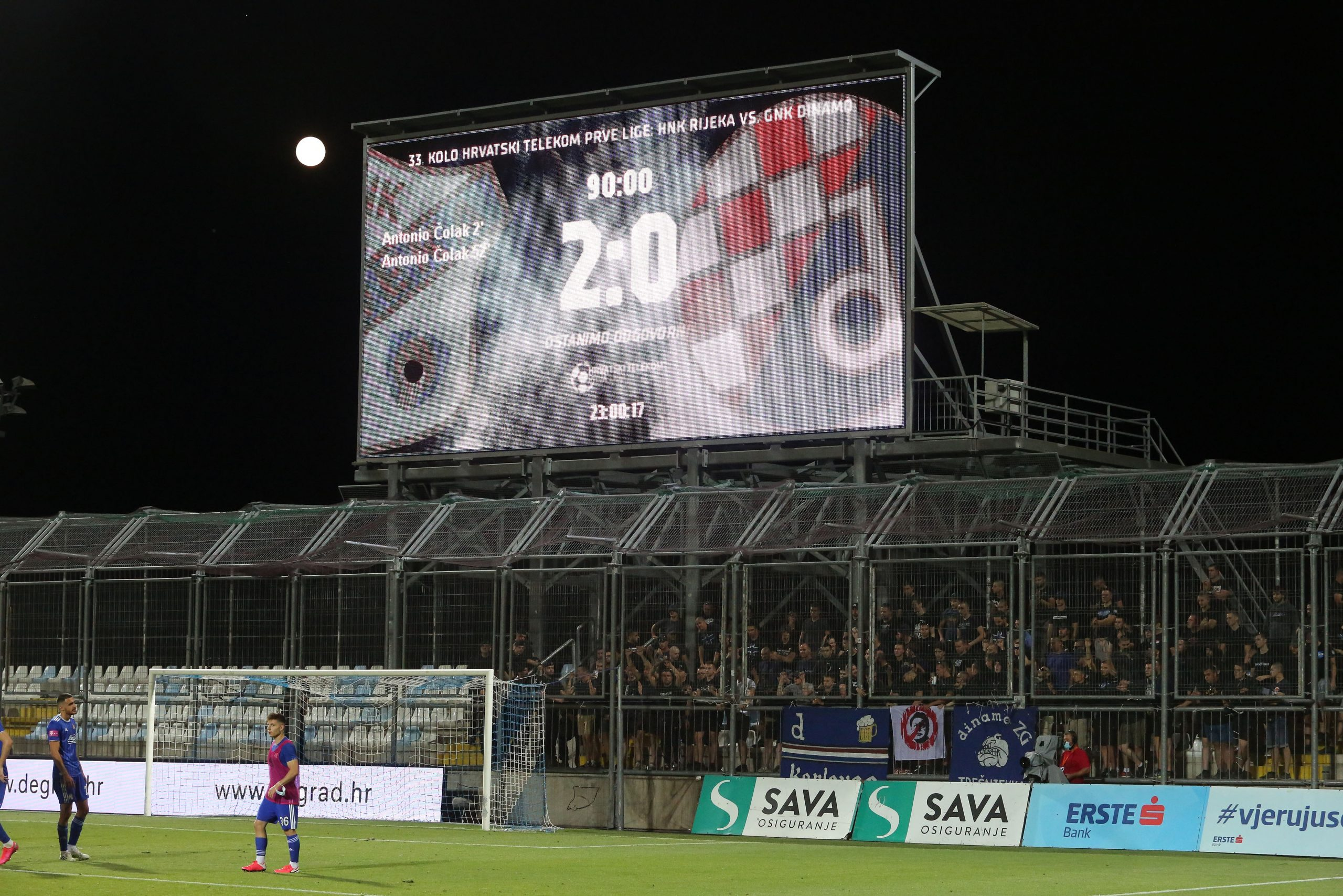 BBB na Rujevici nisu štedjeli Zdravka Mamića/Foto PIXSELL