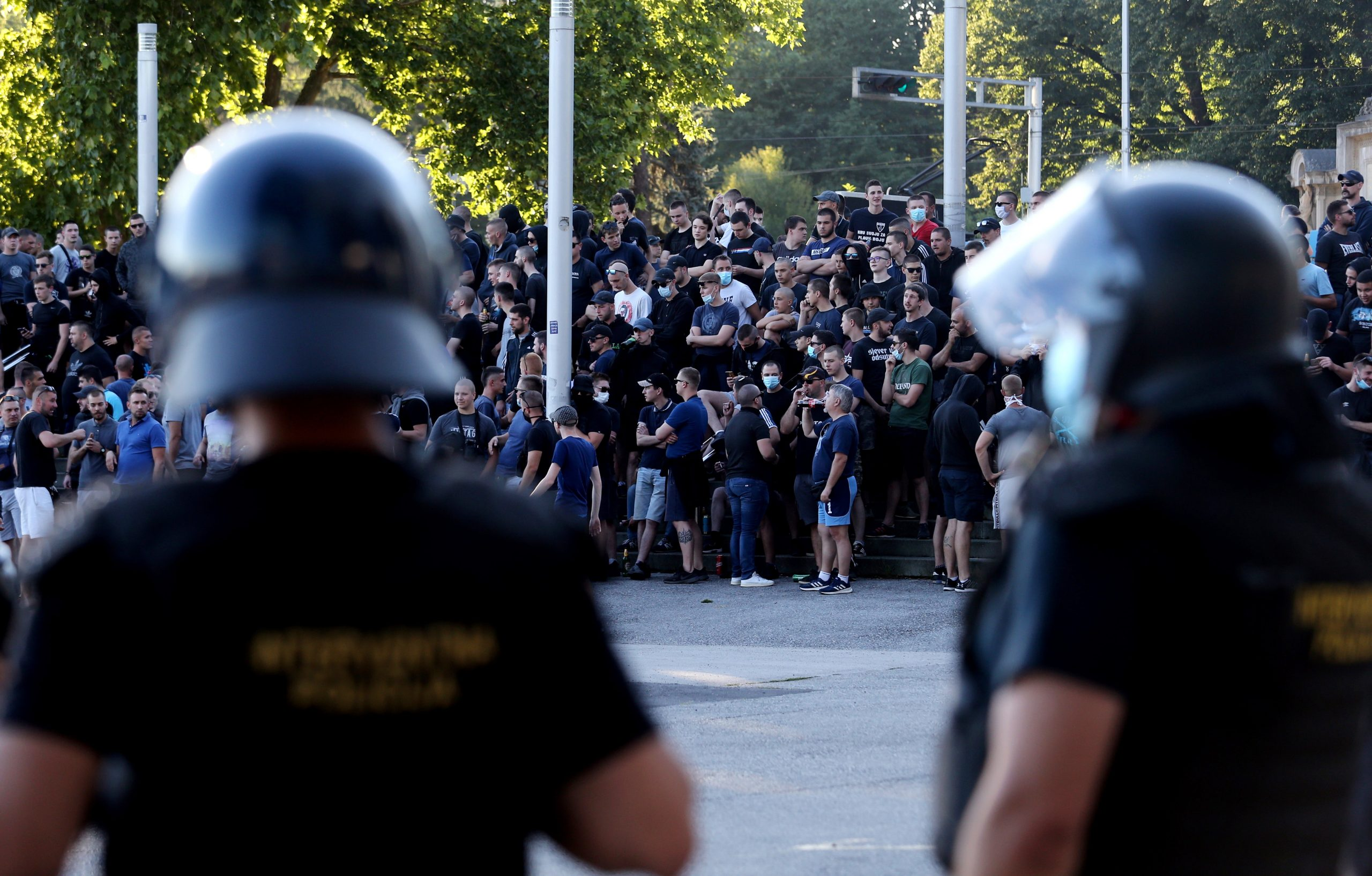 Maksimirski stadion osiguralava je policija/Foto PIXSELL