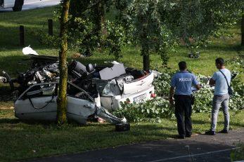 Nesreća na Jarunu / Foto Marin Tironi/PIXSELL