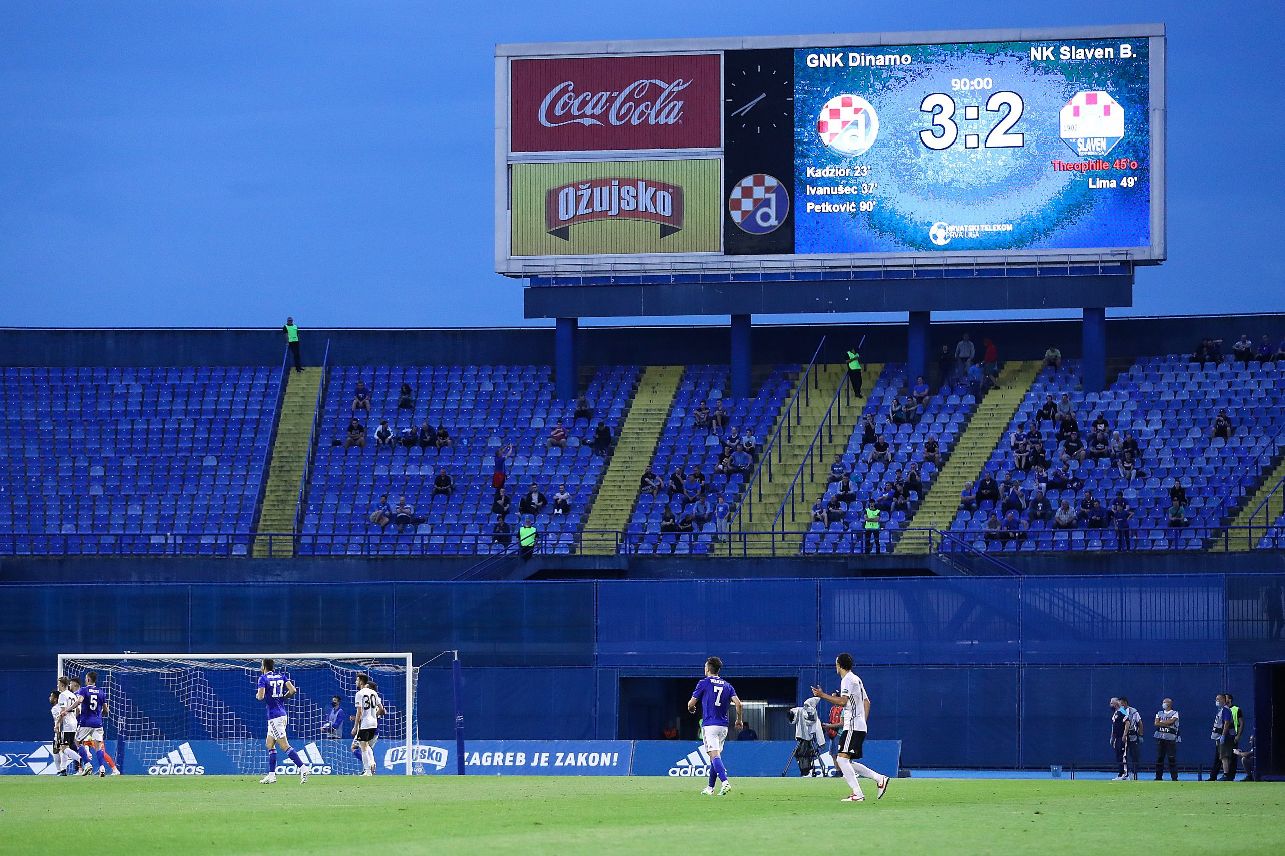 Južna tribina stadiona u Maksimiru do daljnjega je van upotrebe/Foto PIXSELL