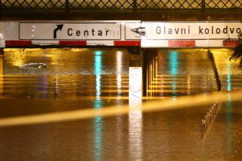 Poplava u Zagrebu / Foto Pixsell